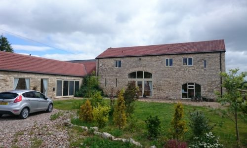 Barn conversion in Barkston Ash