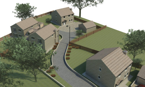 Development at Fairburn street scene